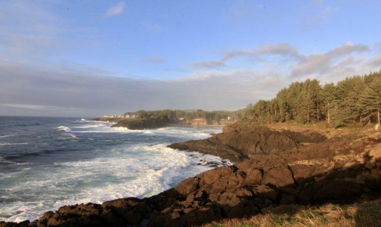 La côte pacifique US: l'Oregon.